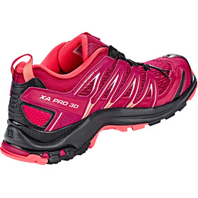 Salomon XA Pro 3D Schuhe Damen beet red/cerise./black